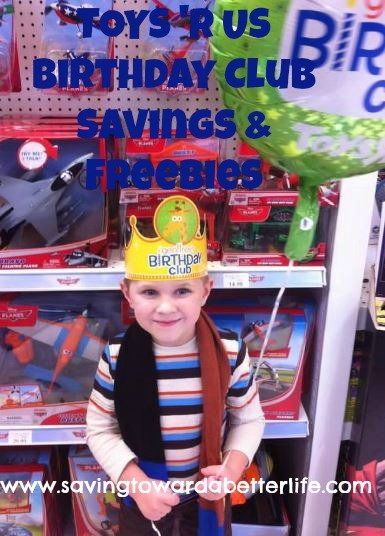 Toys R Us Birthday Party : Birthday freebies savings toys r us saving toward a