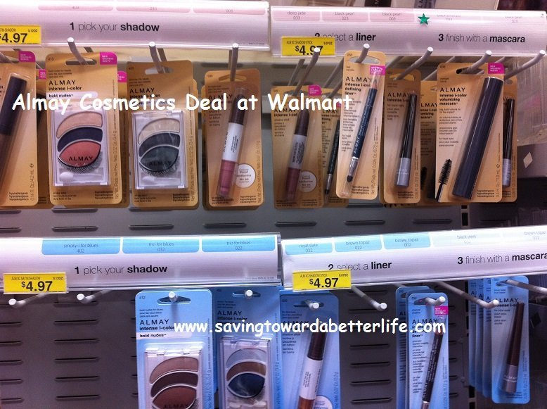 graphic relating to Almay Printable Coupons referred to as Walmart: above 50% Personal savings upon Almay Cosmetics with Coupon