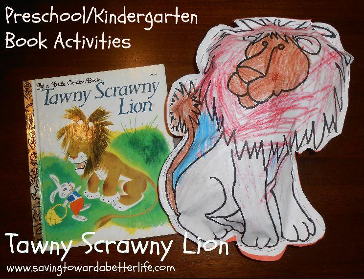 Tawny Scrawny Lion Craft