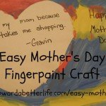easy mothers day craft