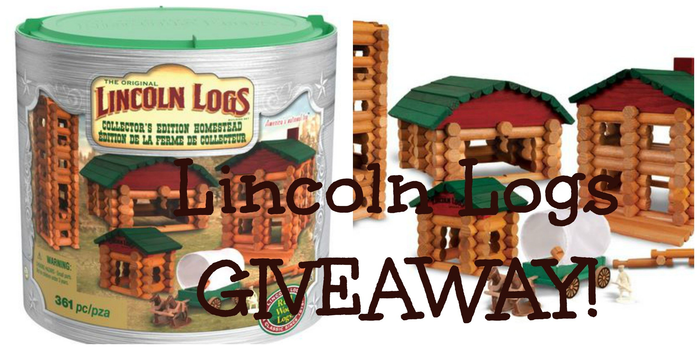 Lincoln Logs Collector S Edition Homestead 330 Pieces