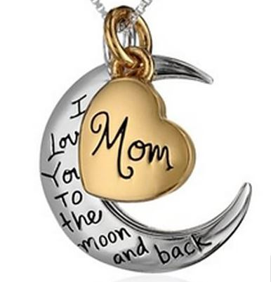 I love you to the moon and back pendant 898 shipped saving this is a special sentiment between bug and i from the book guess how much i love you aloadofball Choice Image