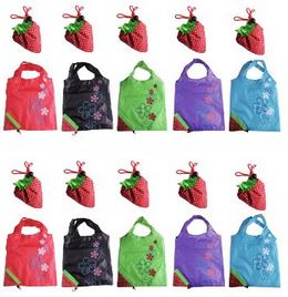 Cute Reusable Ping Bag In Strawberry Shaped Pouch 1 99
