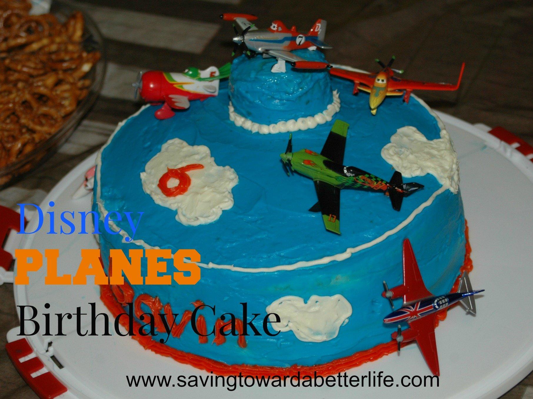 Cake Decorating Ideas Planes : Disney PLANES Birthday Party Supplies and Ideas - Saving ...