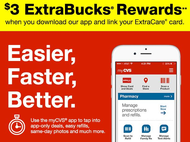 309cbee5 CVS: Download New App for $3 ECBs! - Saving Toward A Better Life ...