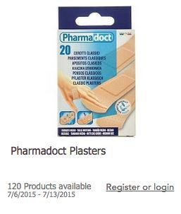 pharmadotbandages