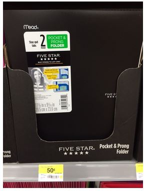 Five Star School Supply Deals At Walmart Free Folders And More