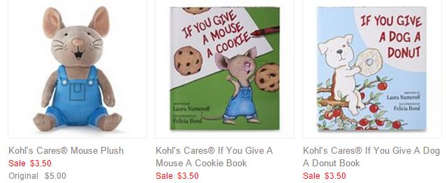Kohl S Cares For Kids Laura Numeroff Books And Plush Characters