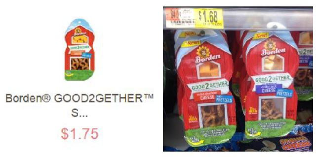 Walmart: FREE Borden Good2Gether Snacks after Ibotta