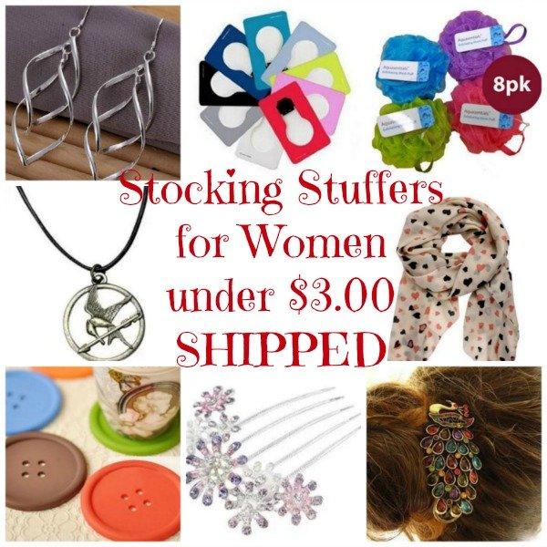 stocking stuffer ideas for women under 3 00 shipped saving toward