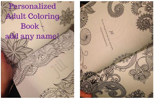 Coloringbook I Love The Pages In This Book You Can Create A Personalized Message On First Page And There Are Inspirational Quotes Through Rest Of