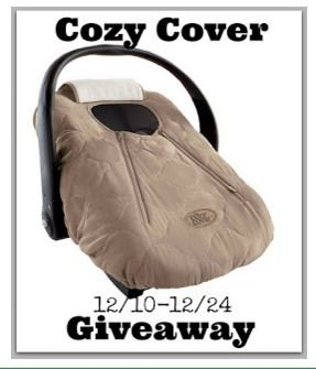 Cozy Cover Infant Car Seat Cover GIVEAWAY (ends 12/24) - Saving ...