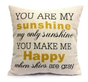 sunshinepillowcase