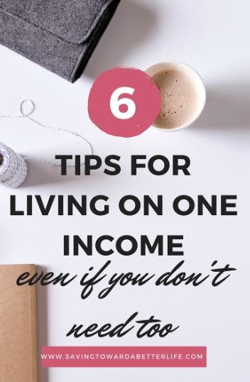 living_on_one_income