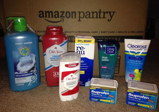 My May Amazon Prime Pantry Box 86 Deodorant Coupons to Clip
