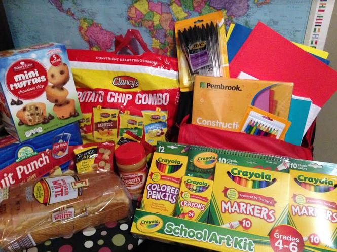 Donating School Supplies to Kids in Need #ALDIGivesBack - Saving