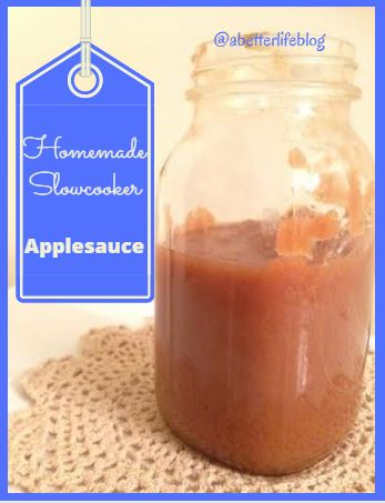 homemadeslowcookerapplesauce