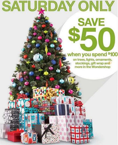 Target: $50 off a $100 Christmas Shop Purchase (Saturday, 11/26 ...