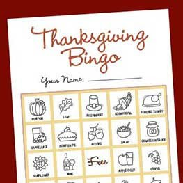 thanksgivingbingo