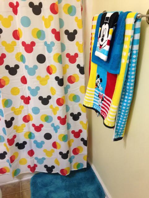 My Disney Mickey Mouse Bathroom Makeover from Kohl\'s! - Saving ...