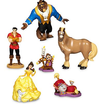 95f456fff22 Beauty and the Beast Figure Playset  14.95 SHIPPED with code FREESHIP. Belle  Heathered Tee for Women – Plus Size