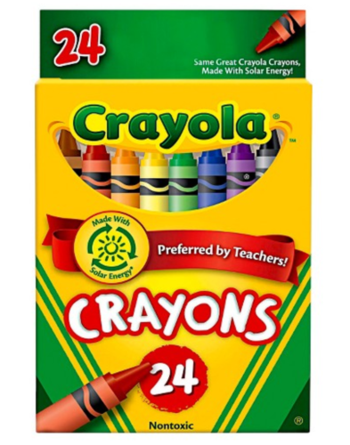 Staples: FREE Crayola Crayons *TEXT OFFER** Hurry! - Saving Toward A ...