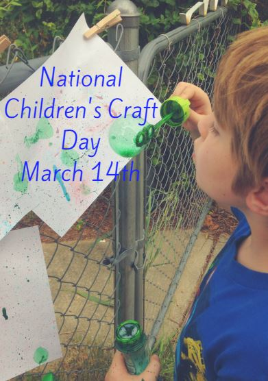 National Children S Craft Day March 14 Craft Ideas Here Saving