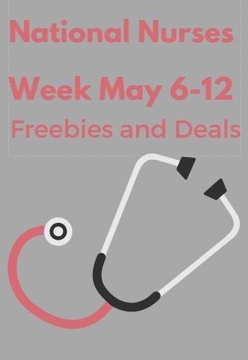 nurses week coupons