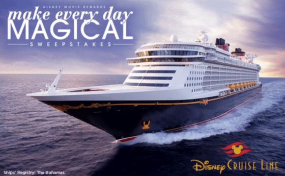 Disney Movie Rewards Instant Win Game Cruise Sweepstakes Enter - Cruise ship movie
