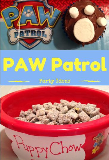 PAW Patrol Birthday Party Cupcakes And Food