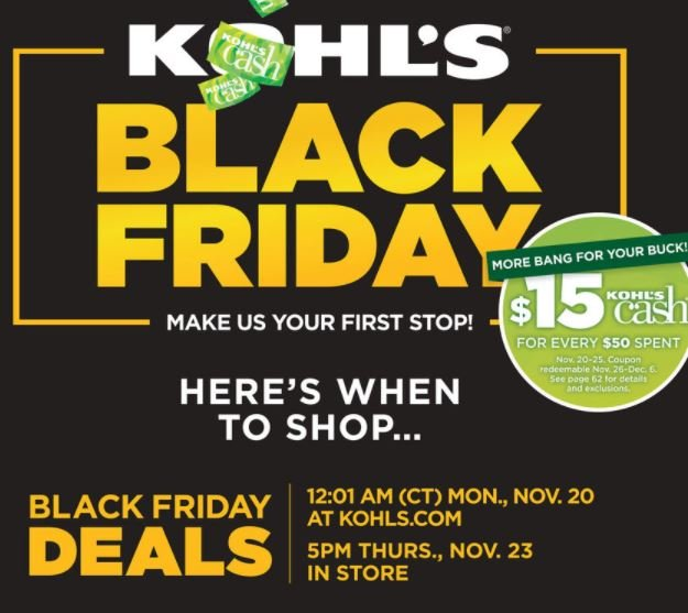 937b6cc32993 Kohl s is starting Black Friday deals are LIVE NOW!! (Exclusing doorbusters)
