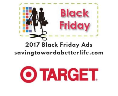 target black friday 2017 ad with amazon price comparison saving toward a better life. Black Bedroom Furniture Sets. Home Design Ideas