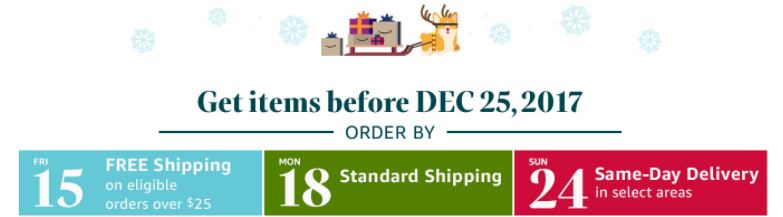 have you made all your amazon purchases - Amazon Christmas Delivery