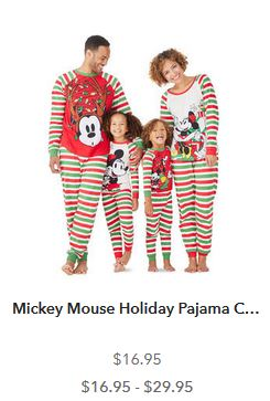 at shopdisney the new disneystorecom site save 20 off your purchase of 40 or more with code disney20 at checkout if you still need christmas pajamas