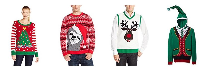 need an ugly christmas sweater amazon has a large selection today that are up to 50 off mens womens and kids sizes for both girls and boys available - Ugly Christmas Sweater Amazon