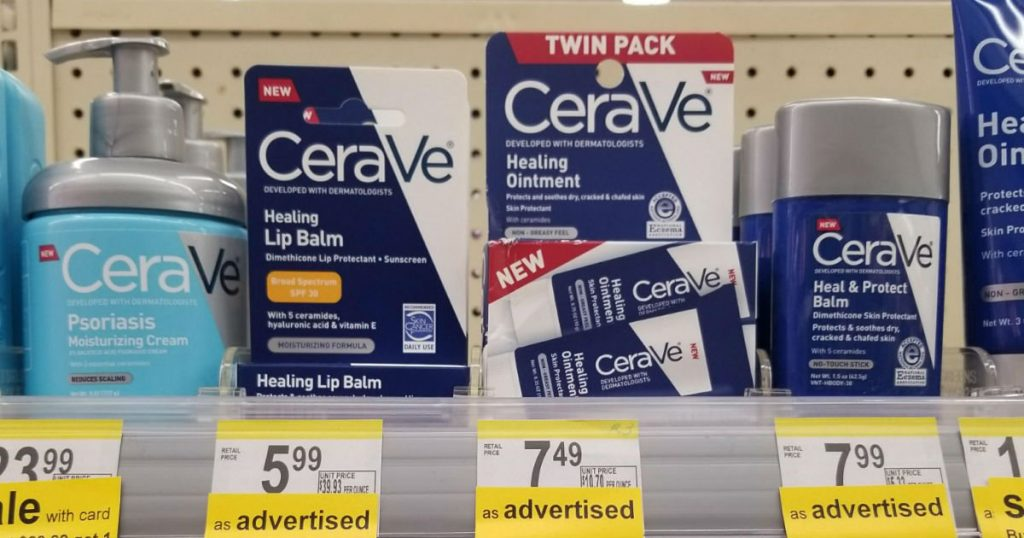 photograph about Cerave Printable Coupon referred to as Walgreens: CeraVa Pores and skin Items $1.75 or a lot less when sale and