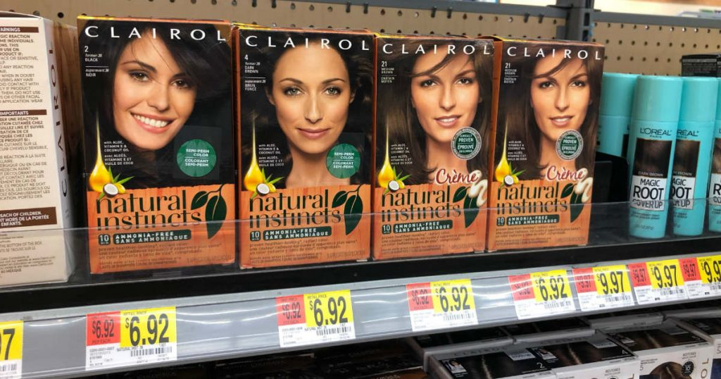 Clairol Natural Instincts Hair Color Only 92 At Walmart After