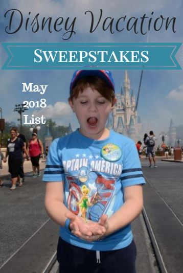 Snail mail sweepstakes 2018 movies
