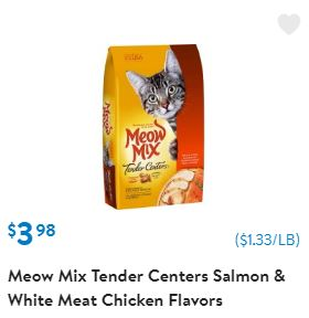 graphic regarding Meow Mix Coupon Printable identify Walmart: Meow Merge Printable Discount coupons and Bargains - Conserving
