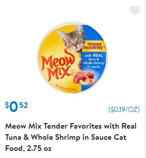 photograph regarding Meow Mix Coupon Printable titled Walmart: Meow Merge Printable Discount codes and Promotions - Conserving