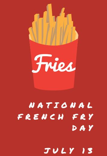 French Fry Day Freebies