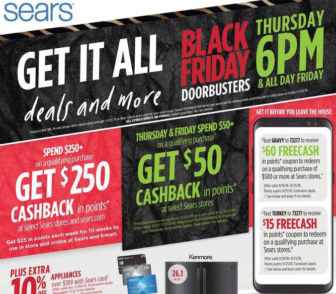 441ea3f8aef3 Sears Black Friday 2018 - Saving Toward A Better Life - Saving ...