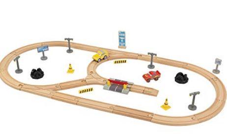Kidkraft Disney Cars 3 Wooden Track Set 55 Pieces Now Under 22