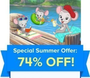 ABCmouse com Summer Sale: Two Months for just FIVE DOLLARS