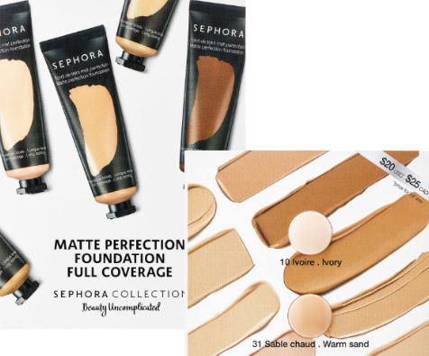 FREE Sephora Collection Foundation Sample (by mail) - Saving
