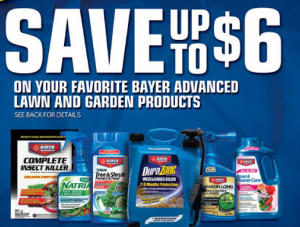 Rebate of the Day - Bayer Advanced Lawn and Garden Products