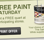 ace hardware free paint
