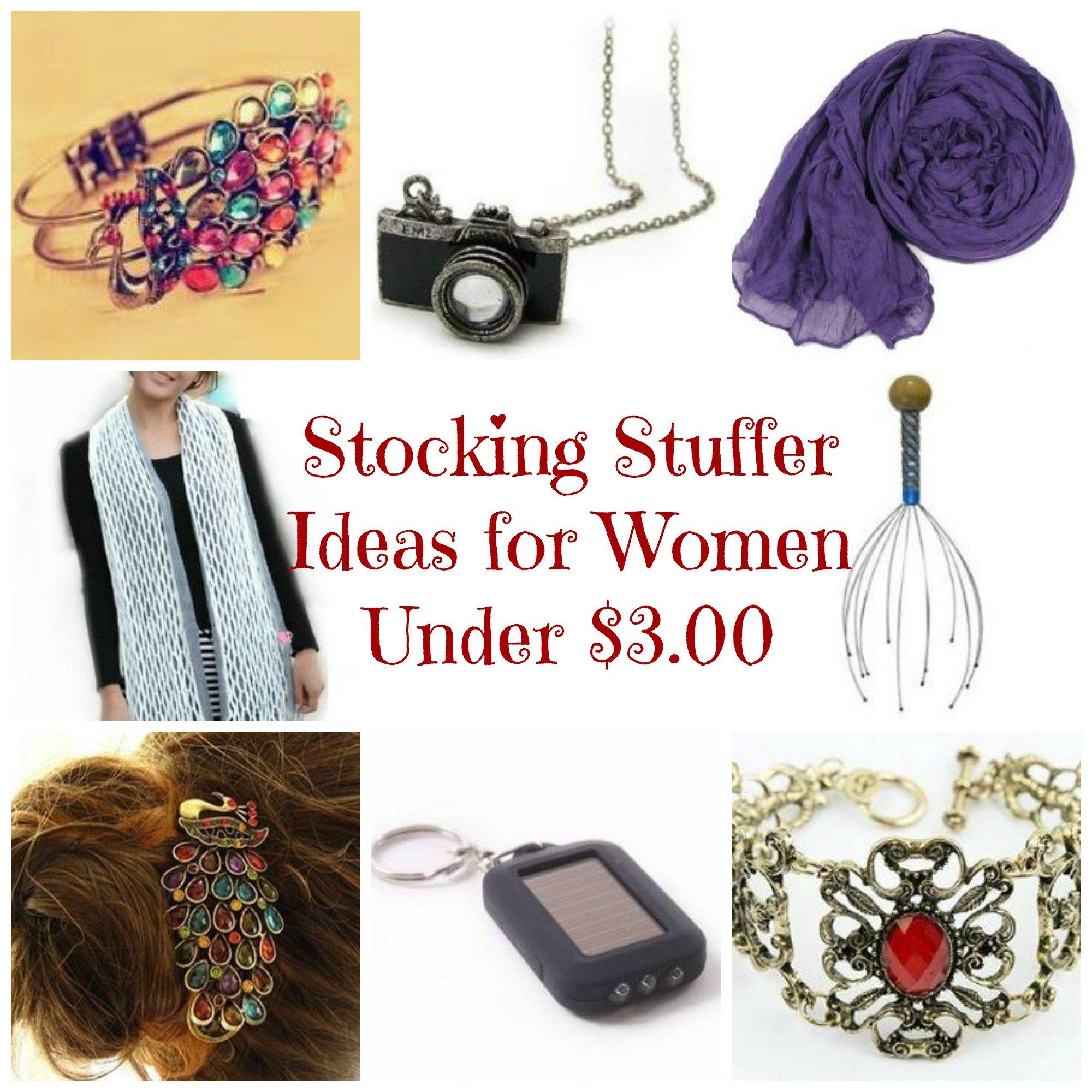 Stocking Stuffer Ideas for Women under $3.00 SHIPPED