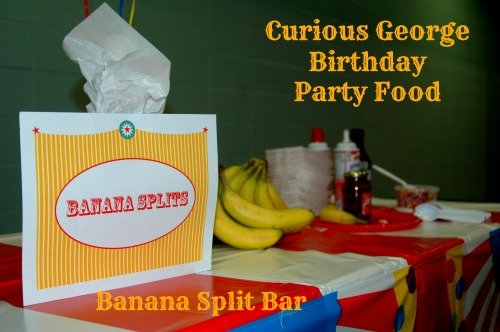 Curious George Party Food Ideas