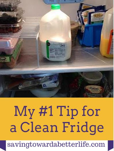 Number One Tip for a Clean Fridge